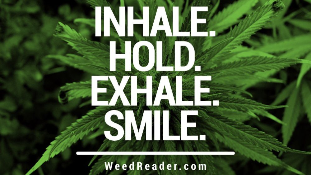 Inhale. Hold. Exhale. Smile