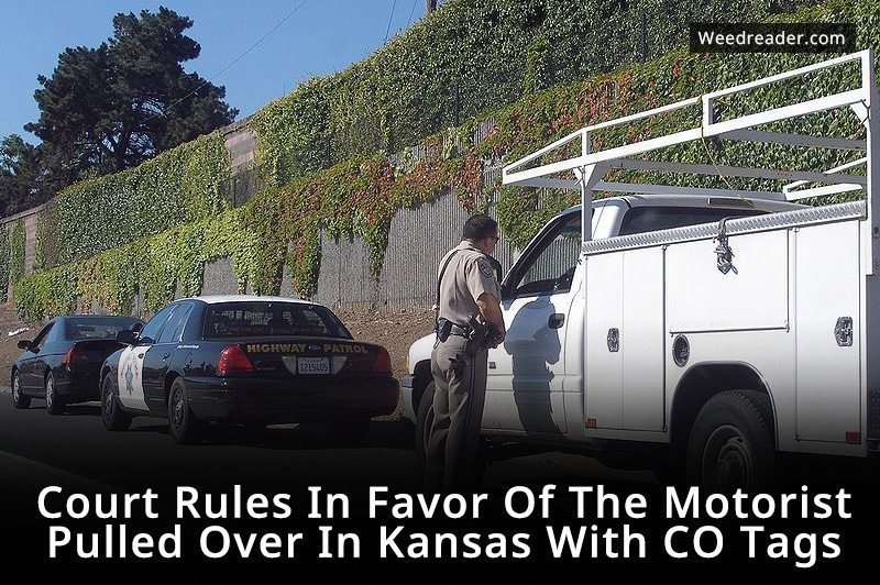 Court Rules In Favor Of The Motorist Pulled Over In Kansas With CO Tags