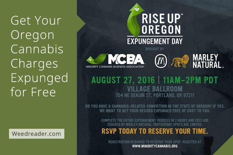 Get Your Oregon Cannabis Charges Expunged for Free