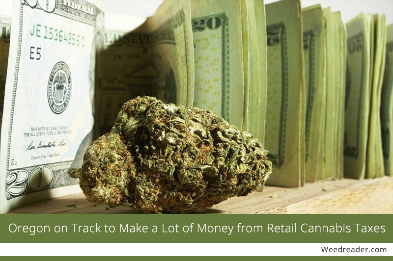 Oregon on Track to Make a Lot of Money from Retail Cannabis Taxes