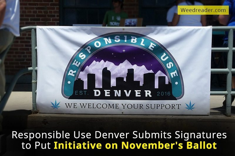 Responsible Use Denver Submits Signatures to Put Initiative on Novembers Ballot