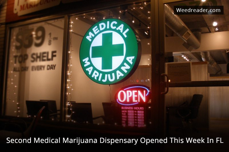 Second Medical Marijuana Dispensary Opened This Week In FL