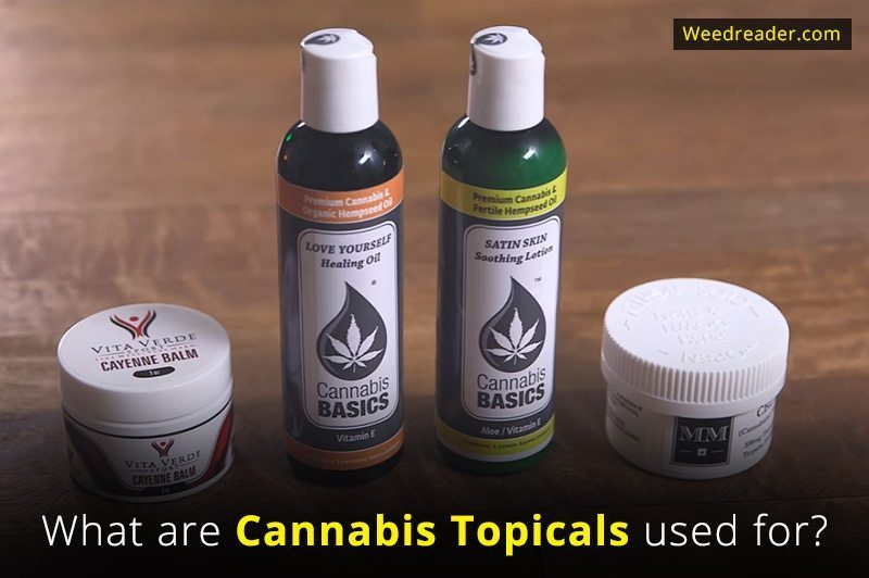 What are Cannabis Topicals used for
