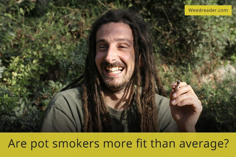 Are pot smokers more fit than average
