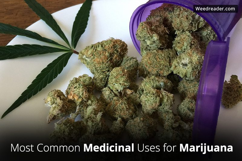 Most Common Medicinal Uses for Marijuana