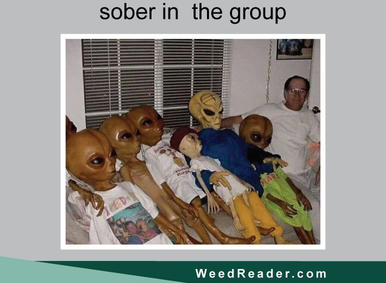 When youre the only sober in the group
