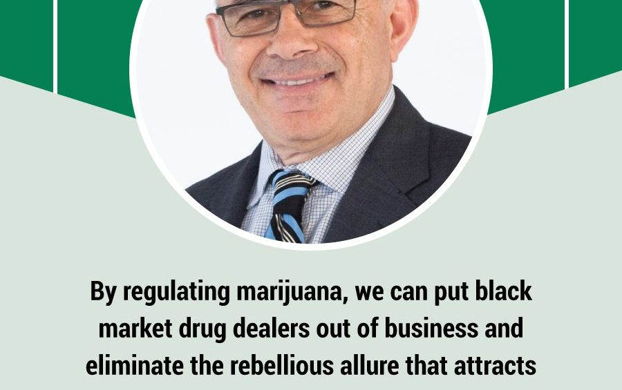 By regulating marijuana we can put black market drug dealers out of business and eliminate the rebellious allure that attracts young people. Sal Albanese