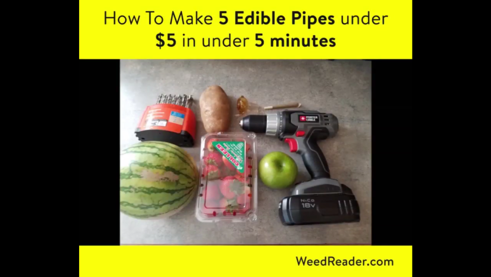 How To Make 5 Edible Pipes under 5 in under 5 minutes