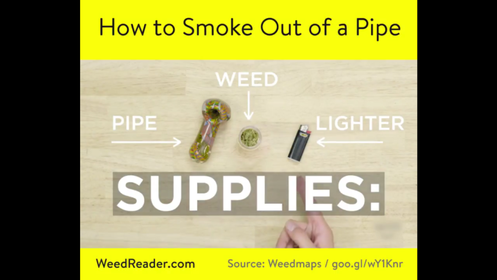 How to Smoke Out of a Pipe