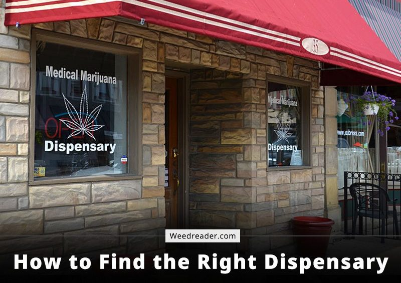 How to Find the Right Dispensary