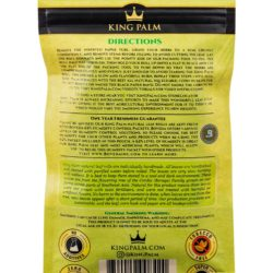 king palm resealable 5 pack king size pre rolls 02
