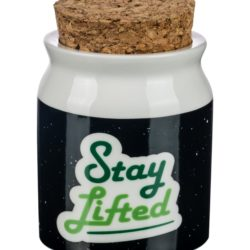 """Stay Lifted"" Stash Jar"