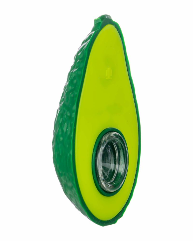 Green Silicone Spoon Pipe