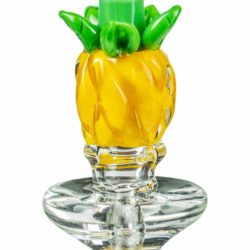 empire glassworks pineapple carb cap for puffco peak carb cap eg p10606 12753909874762