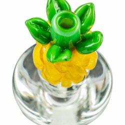 empire glassworks pineapple carb cap for puffco peak carb cap eg p10606 12753909907530