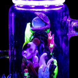 empire glassworks self illuminating aquatic themed rig dab rig eg 2003 12546922446922