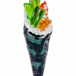 empire glassworks shrimp hand roll sushi pipe hand pipe eg 2134 13376309198922