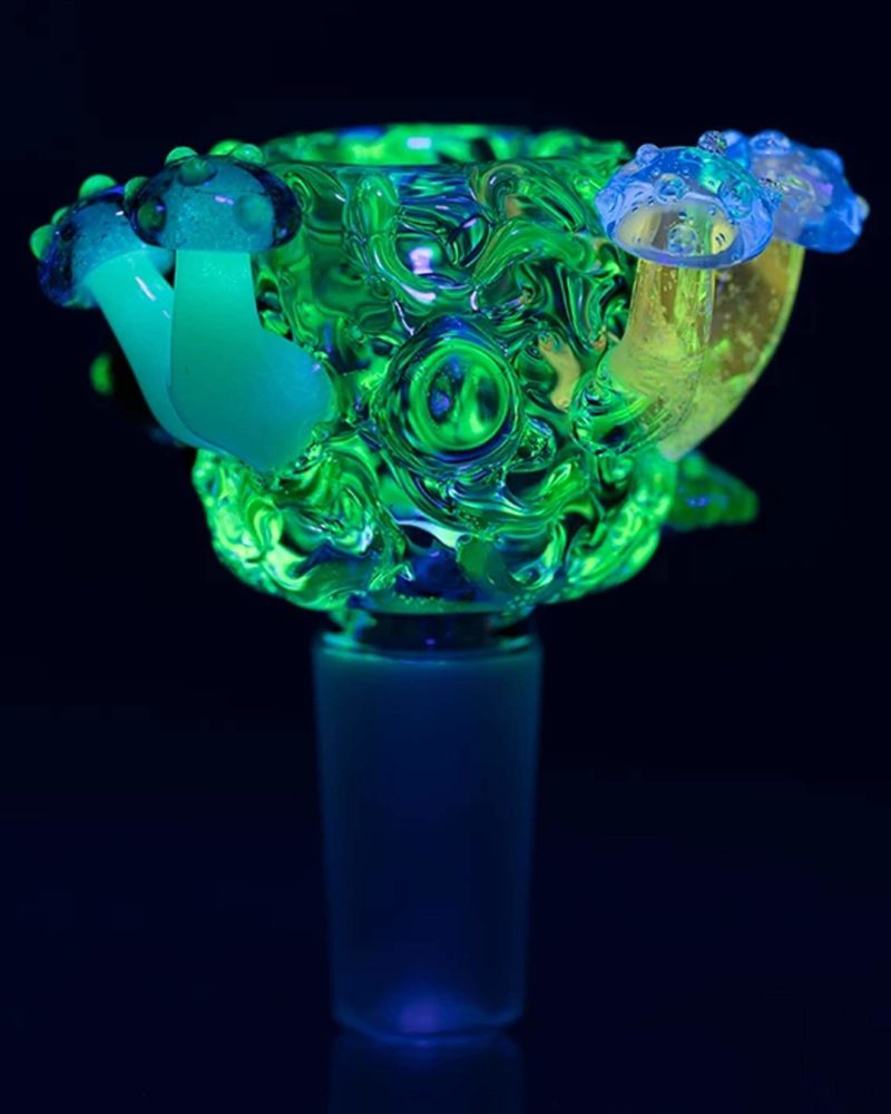 empire glassworks uv reactive cosmic critters bowl piece replacement bowl eg 1972 01 14 13719843242058