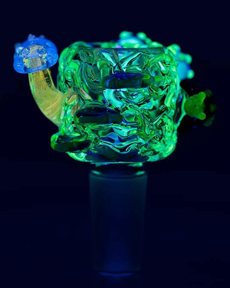 empire glassworks uv reactive cosmic critters bowl piece replacement bowl eg 1972 01 14 13719843274826