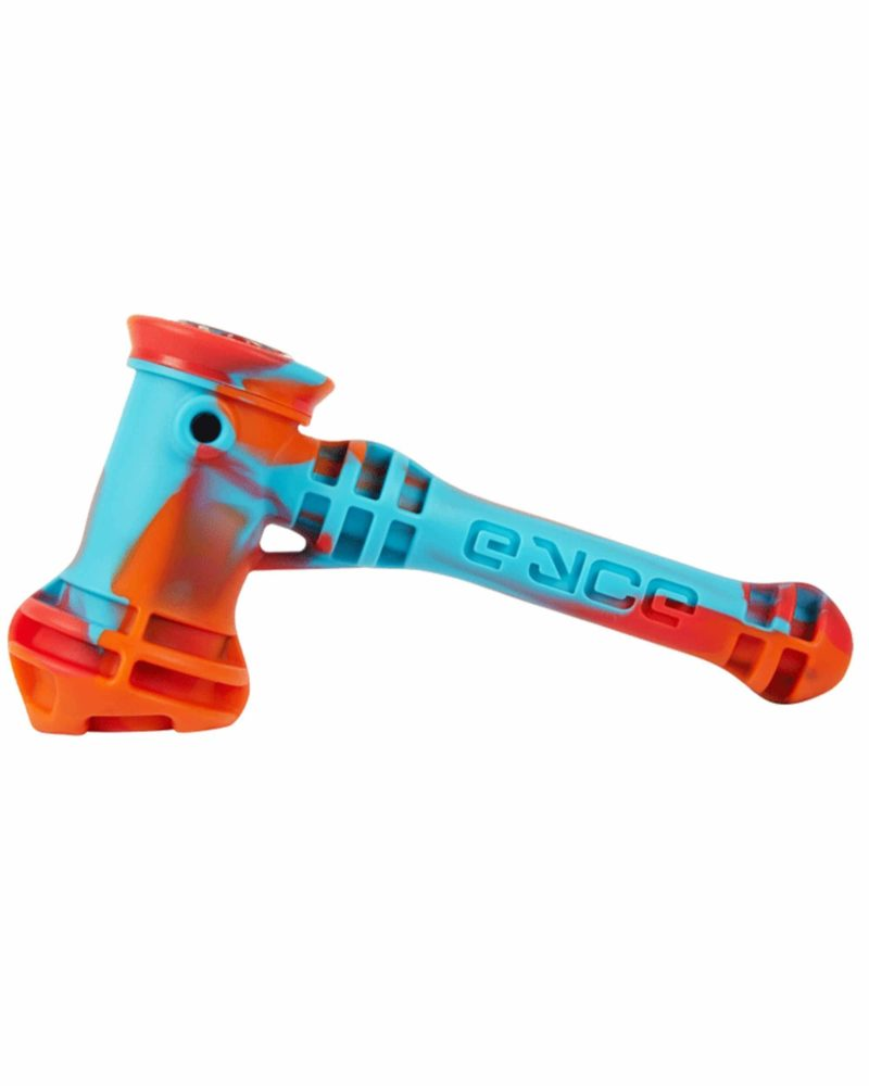 eyce silicone hammer style bubbler fuego hand pipe ey shb ca 13351798865994