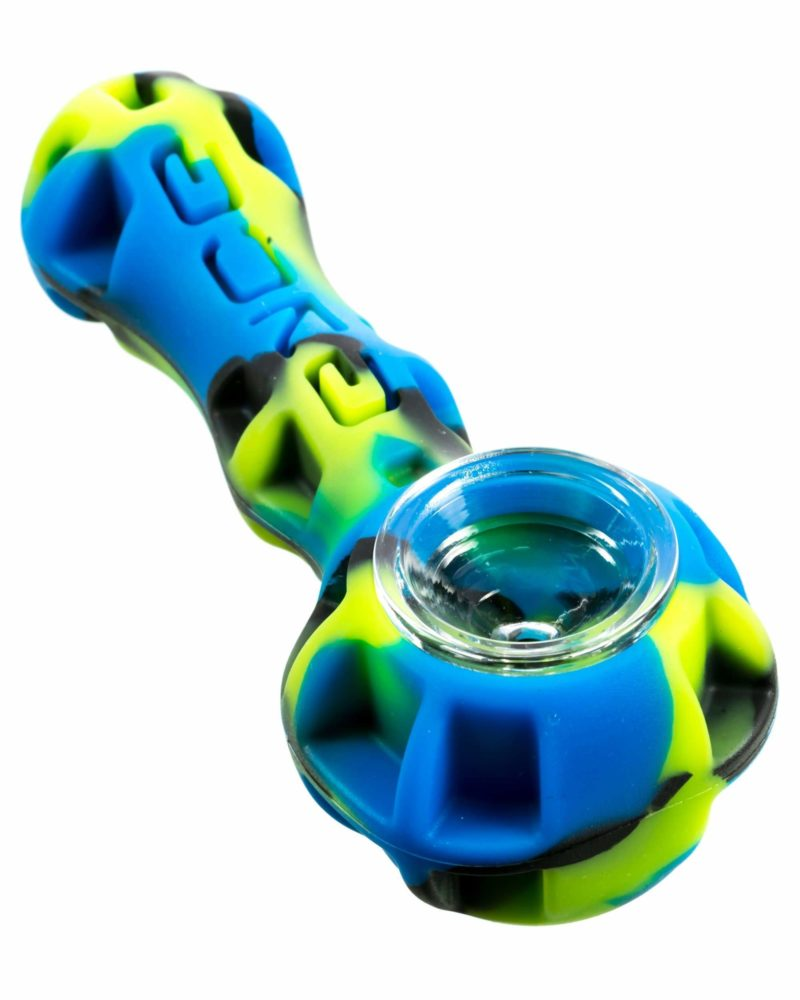 eyce silicone spoon pipe green and blue hand pipe ey ssp sg 30130328533