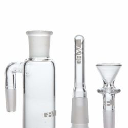 90˚ Ashcatcher with Removable Downstem 14mm