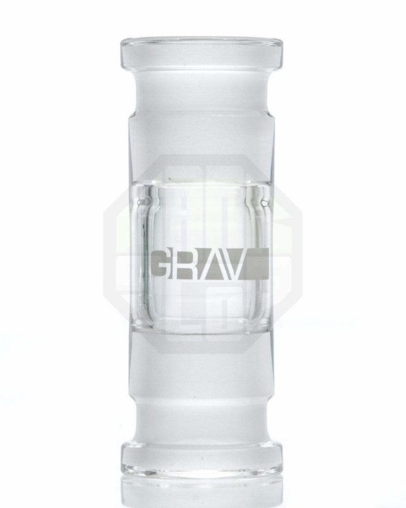 grav labs female to female adapter 14mm glass adapter a14f 20765358342