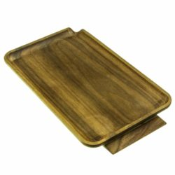 small wooden rolling tray