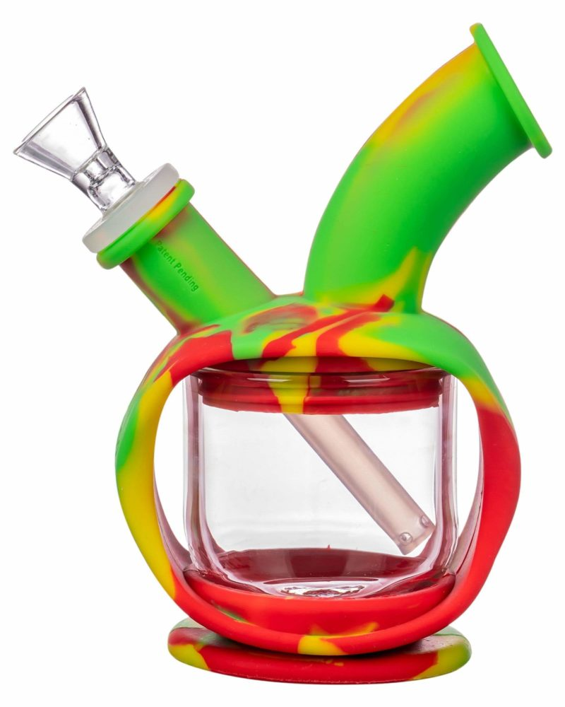 ooze silicone kettle bubbler dab rig 12520794718282