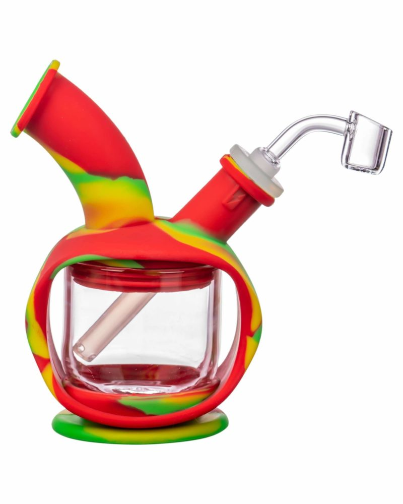 ooze silicone kettle bubbler dab rig 12520794783818