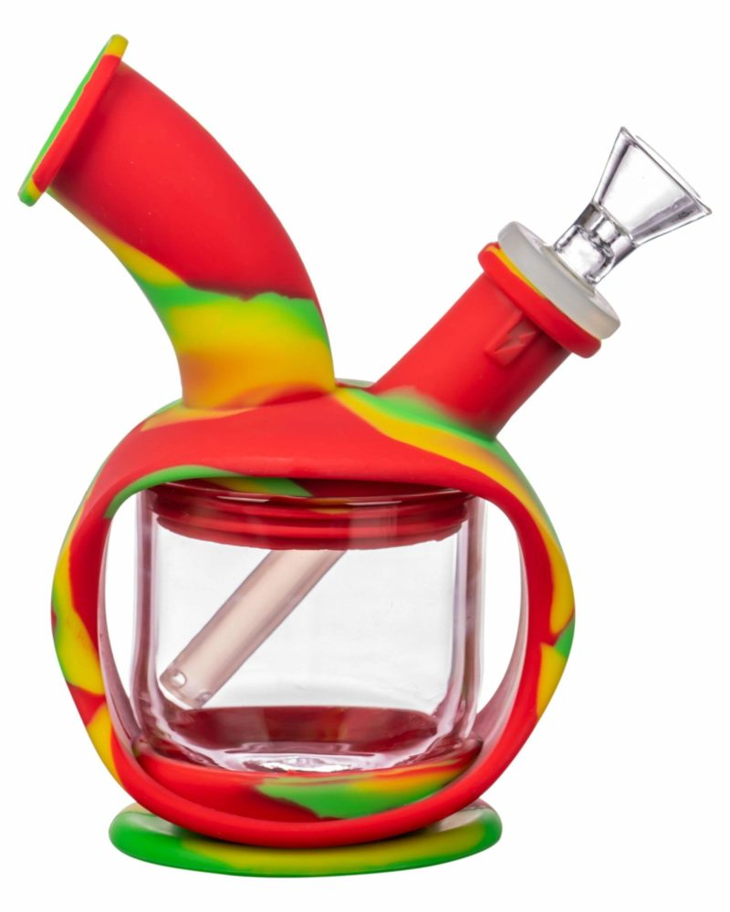 ooze silicone kettle bubbler dab rig 12520794816586
