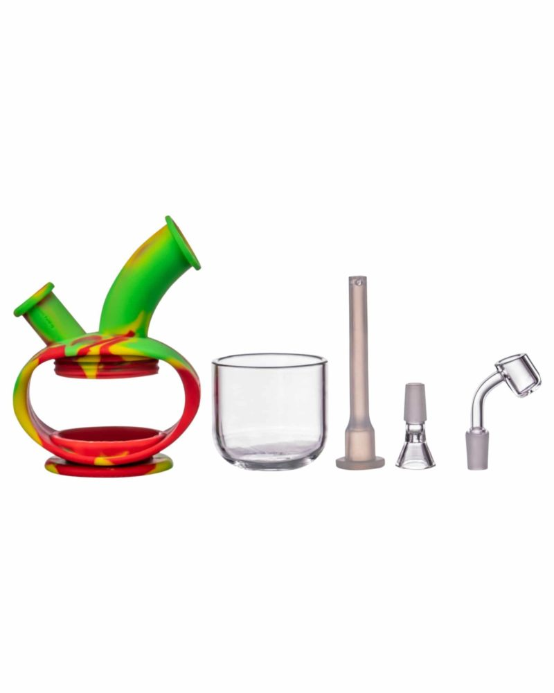 ooze silicone kettle bubbler dab rig 12520794849354