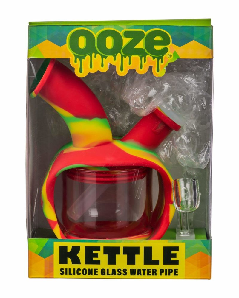 ooze silicone kettle bubbler dab rig 12520794947658