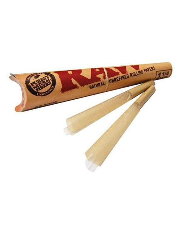 raw classic pre rolled cones single pack 1 1 4 rolling papers raw 114 cone 11848654389322