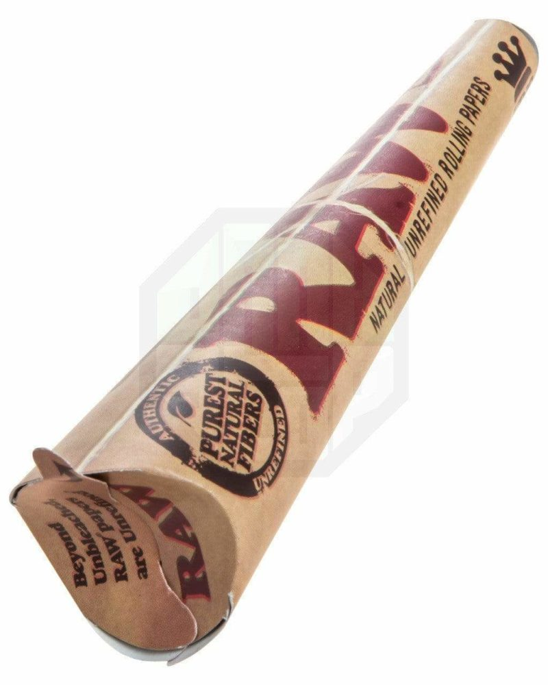 raw classic pre rolled cones single pack king size rolling papers raw king cone 20965688262