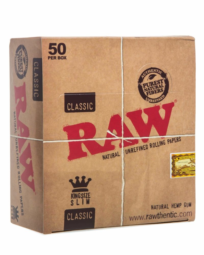 raw classic rolling papers 3 pack king size rolling papers raw king 3pk 4166657278026